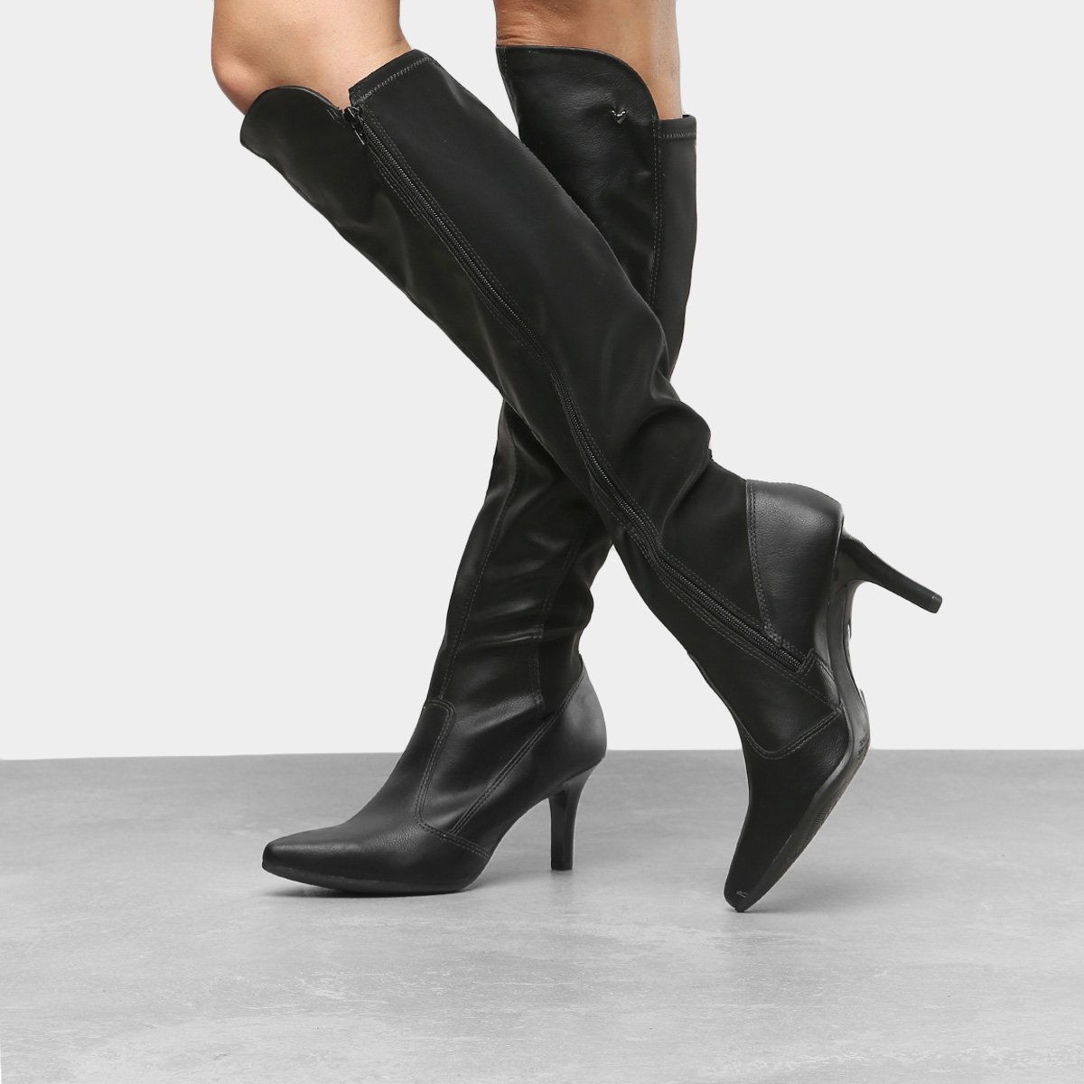 c1504062e Bota Over the Knee Mississipi Bico Fino Feminina | Opte+