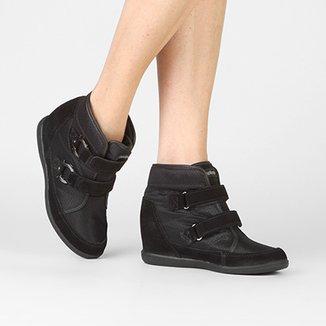 dec701778 Tênis Cano Alto Kolosh Sneaker Velcro Feminino