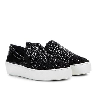 ca0c5892d Slip On Couro Bottero Tachas Hot Fix Feminino