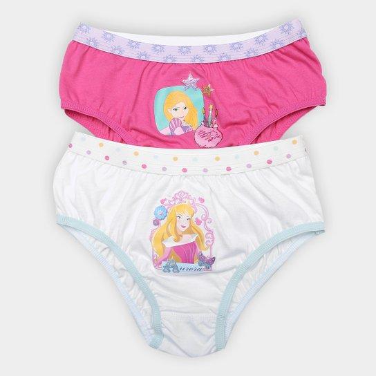 5c3a02a36 Kit Calcinha Infantil Lupo Princesas 2 Peças - Compre Agora