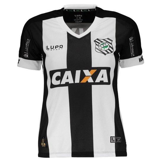 19d4a64937 Camisa Lupo Figueirense I 2016 N° 10 Feminina - Preto