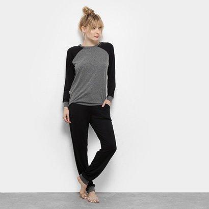 Pijama Lupo Loungewear Feminino