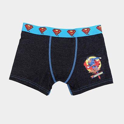 Cueca Infantil Lupo Boxer Superman