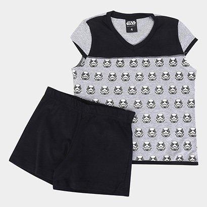 Pijama Infantil Lupo Disney KF S.Wars Sh.Doll