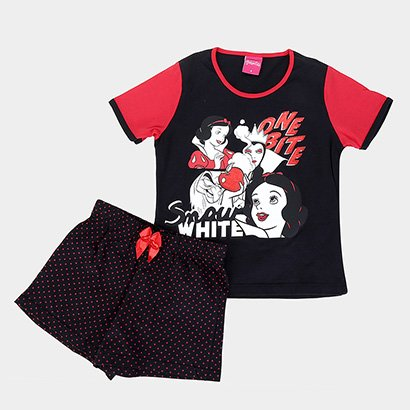 Pijama Infantil Disney KF Princesas Feminino