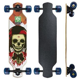 Skate Longboard completo Pgs Caveira 7.9 f44e6b8f276