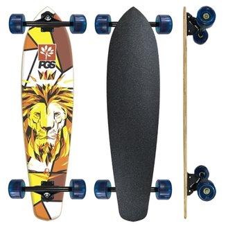 Skate Longboard completo Pgs Leão Rei 7.9 39b670595e7