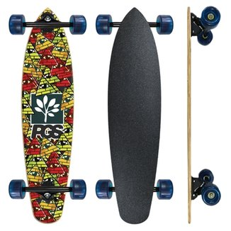 Skate Longboard Fish completo Pgs Pirâmides 7.9 ac426c8d09c