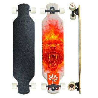 e7e5a9ed2201f Skate Longboard Speed5 Montado Profissional PGS 7.9