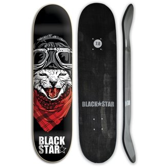 657f753a742b2 Shape de skate Black Star Fiberglass CAT 7.8 + Lix