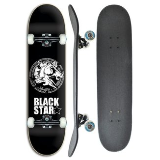 17f8e42e1f Skate completo Profissional Black Star Horse 8.0