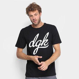 d132cbfb27 Camiseta DGK Script Masculina