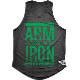 Camiseta Regata Tradicional Arm Iron d34bb5af37a4a