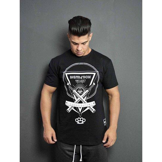 085b8639da7fa Camiseta masculina Diet Inspiration - Preto - Compre Agora