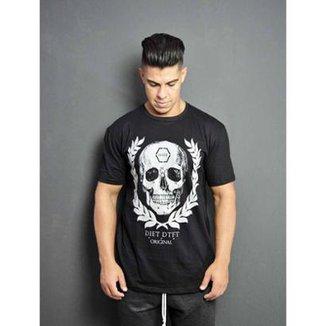 84360b2a6d Camiseta masculina diet Skull arch