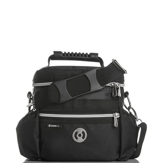 a4cc20036 Bolsa Térmica Iron Bag Mini Pop Tamanho P + Combo de acessórios - Preto