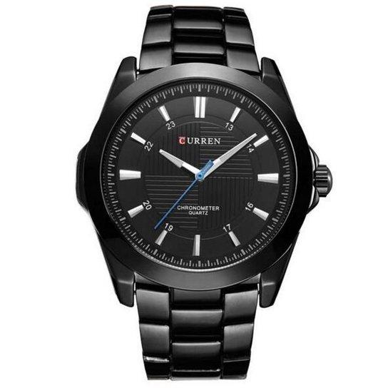 455fb0b5ab681 Relógio Curren Analógico - Preto | Netshoes