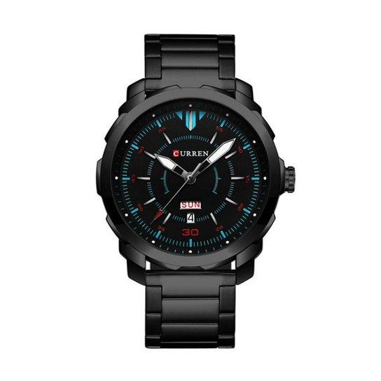 94c6f6d0162 Relógio Curren Analógico 8266 - Preto - Compre Agora