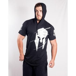 d2a8fd6b97 Camisa Império Fitness com Capuz Logo Masculina