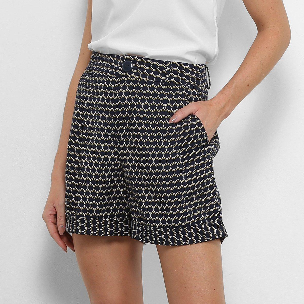 Foto 1 - Shorts Hot Pants Maria Filó Estampado Feminino