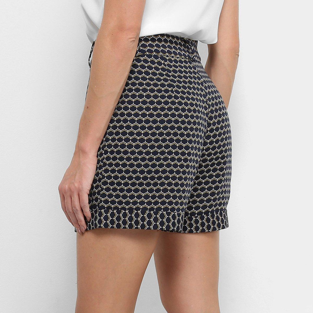 Foto 2 - Shorts Hot Pants Maria Filó Estampado Feminino