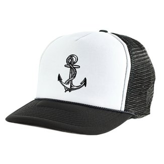 104a7cd061242 Boné Blanks Co Snap Back BlackAnchor Aba Curva - Masculino