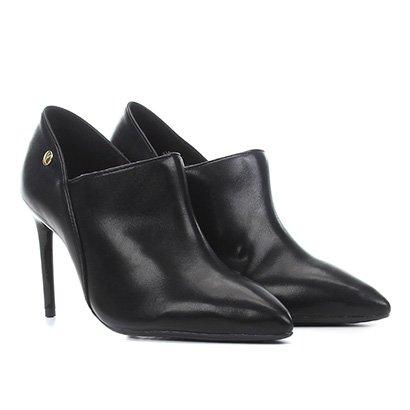Ankle Boot Vizzano Salto Alto Feminina