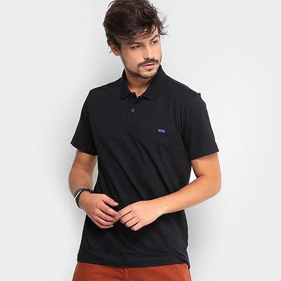 Camisa Polo Triton Malha Básica Logo Masculina