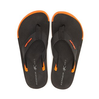 Chinelo Kenner Kick.S Line Black Masculino