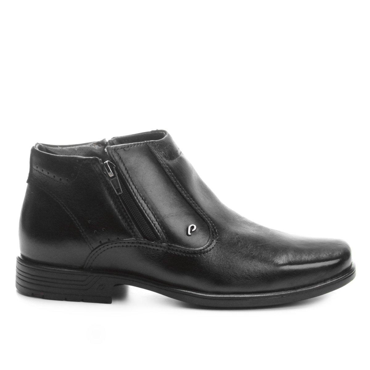60e446e4ff Sapato Social Couro Pegada Perfuros Masculino