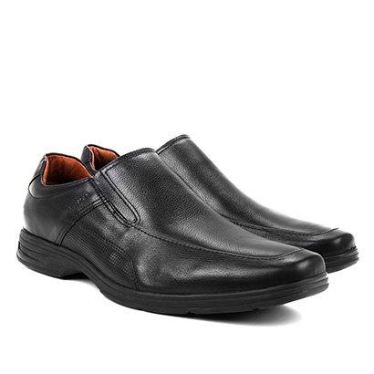 Sapato Social Couro Ferracini React Masculino