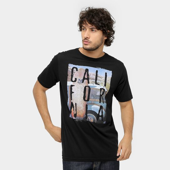 0e4793e853122 Camiseta Mood Califórnia I Masculina - Compre Agora