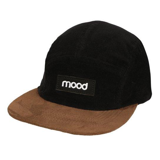 Boné Mood Aba Reta Veludo Masculino - Compre Agora  1e189e9ed13