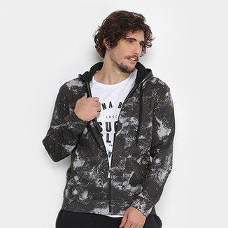 Compre Jaqueta de Lã Masculino Com Capuz E Ziper Assimetrico  33bbbdb942786