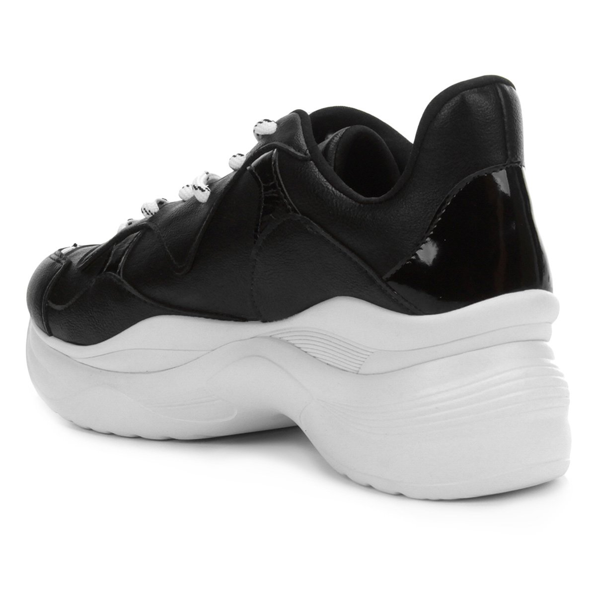 47480cc27 Tênis Tanara Chunky Sneaker Feminino - Tam: 38 - Shopping TudoAzul
