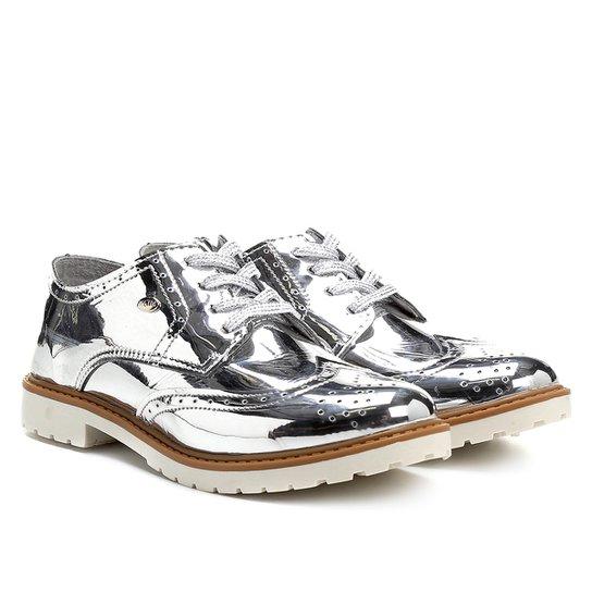0512f023a Sapato Klin Oxford Infantil - Prata   Netshoes