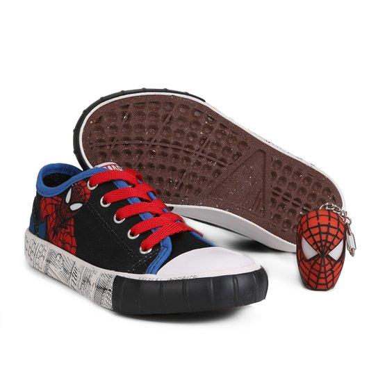 Tênis Infantil Diversão Spider Man Masculino - Compre Agora  a4eb6495be52b