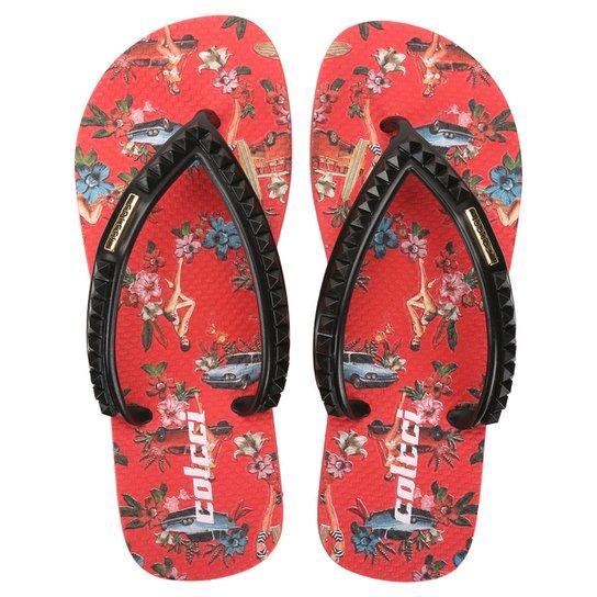39810124a Chinelo Colcci Floral Vintage Floral - Compre Agora | Netshoes