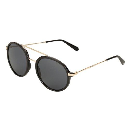 Óculos de Sol Colcci Redondo Cindy Brilho Feminino - Compre Agora ... 5a9cd4353b