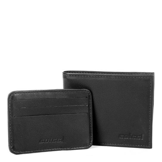 58e55a424 Carteira Couro Colcci Must Have Com Porta Cartões Masculina | Netshoes