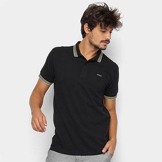 Camisa Polo Colcci Frisos Masculina b242693238544