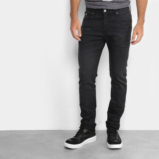 2b6c7af8b Calças Jeans Skinny Colcci Rodrigo Cintura Média Masculina - Preto ...