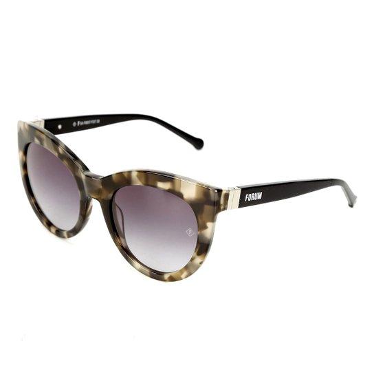 e1451d0e838de Óculos de Sol Forum Demi Feminino - Preto - Compre Agora