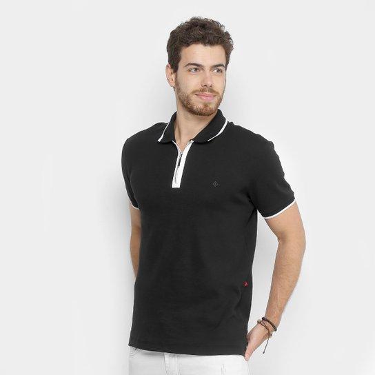 d49ec45a79 Camisa Polo Forum Gola Zíper Masculina - Compre Agora