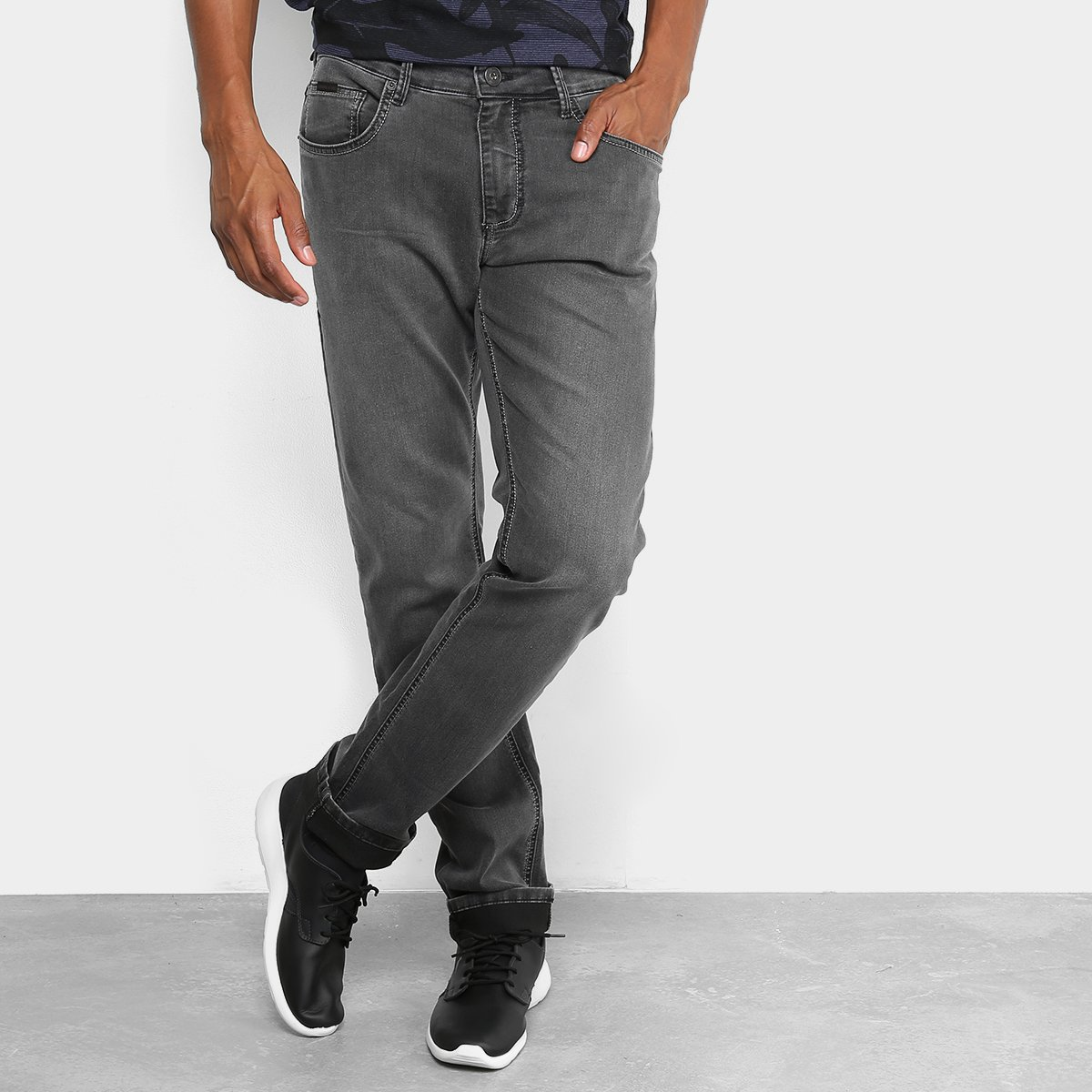 b7d2f8b90 Calça Jeans Slim Forum Estonada Paul Masculino