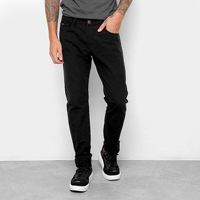 Calça Slim Forum Jeans Básica Cintura Alta Masculina