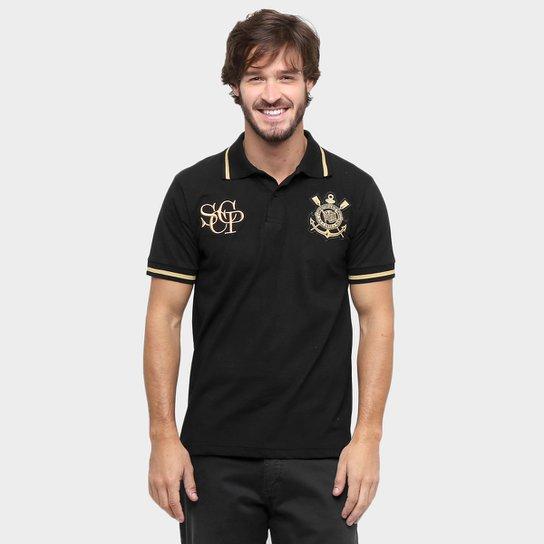 57e34cef83 Camisa Polo Corinthians Ouro Masculina - Compre Agora