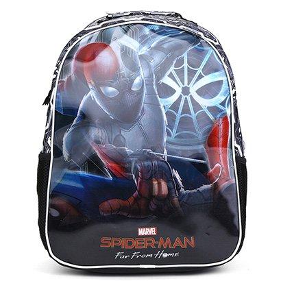 Mochila Escolar Infantil Pacific Disney 16 Spider Man Filme Stealth