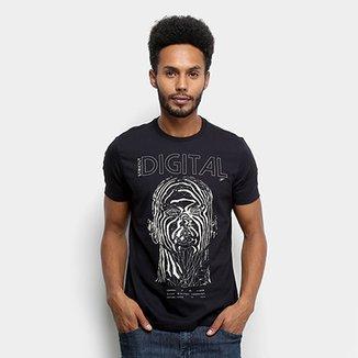 df1df39780 Camiseta Ellus Fine Strictly Digital Classic Masculina