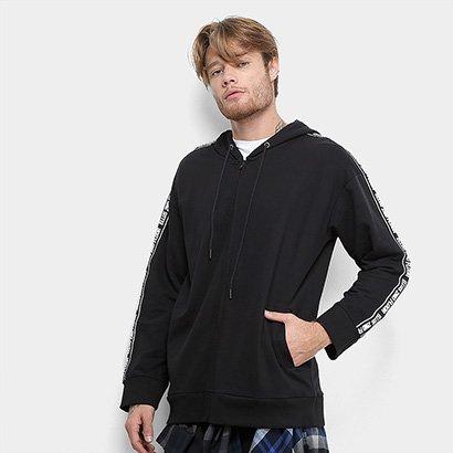Moletom Ellus 2nd Floor Fleece#TAPE# Canguru Masculino
